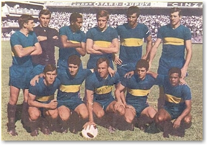 Boca Juniors in the sixties